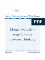 Steps Toward Systematic Thinking
