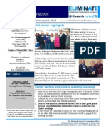 The Eliminate Project - USA 2 Newsletter - 2-18-13