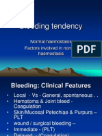 Bleeding Tendency for Dentist