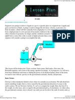 Mechanical Engineering - Pumps
