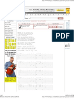 Habanera Guitar Tabs by Pascual Roch