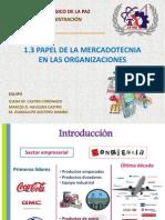 Papel Del MKT en Las Organizaciones