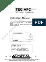 Apexi v-Afc Manual