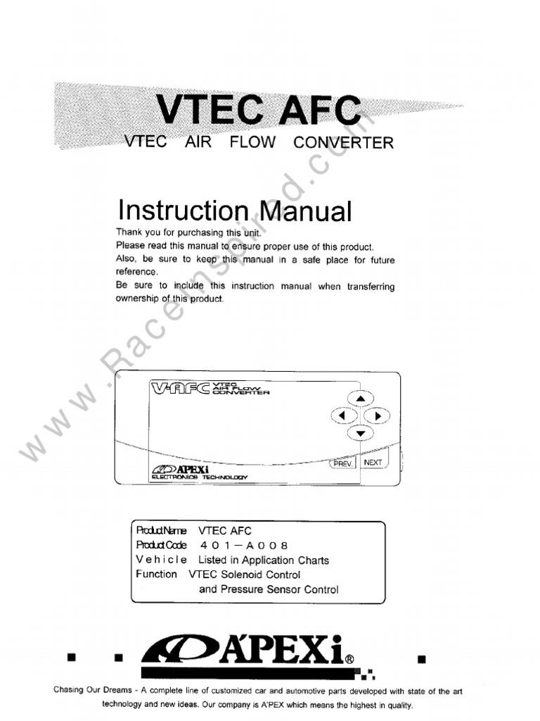 apexi vafc wiring diagram