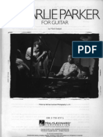 60187634 Real Book Charlie Parker for Guitar