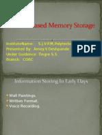 Protein Based Memory Storage2
