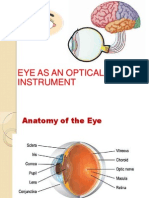Eye as an Optical Instrument