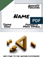 Mathblogosphere