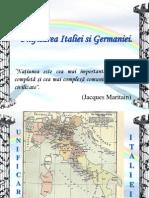 Unificarea Italiei Si a Germaniei