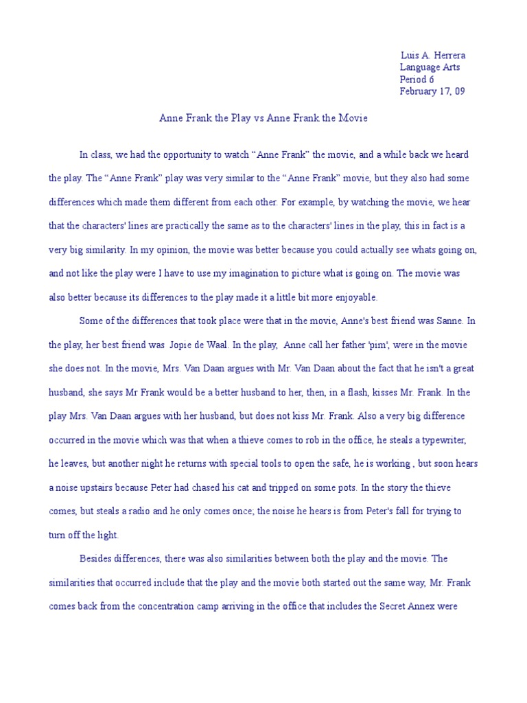 Essay On My Summer Vacation For Kids The Diary Of Anne Frank Dvd Amazon Co Uk Millie Perkins World War Ii Essay also Product Life Cycle Essay Tips For Rewriting Thesis Statements  Think Tank The Diary Of  Howard Zinn Essays