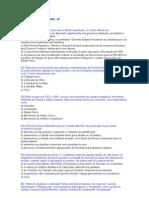 Exercícios e Gabaritos de História do Brasil - 2