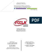 Manual instructivo de FCCLA