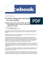 FACEBOOK - NEWS 2´2009 (updated 18.2.2009)