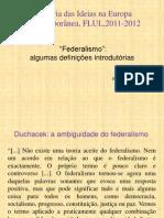 Aulas 14-16 o Que e Federalismo