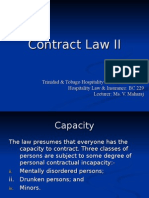 Contract Law II