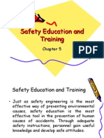 Safety Education and Training