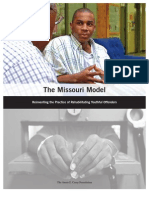 The Missouri Model - Reinventing the Practice of Rehabilitating Youthful Offenders