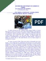 l Assasinnat de Sekina Cansiz Dans Les Relations Diplomatiques Franco Turques