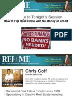 Seller Finance Real Estate