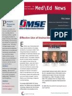 UA OMSE Med/Ed eNews v1 No. 05 (FEB 2013)