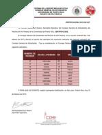 Certificación 2012-2013-57 (Calendario de Reuniones Ordinarias)