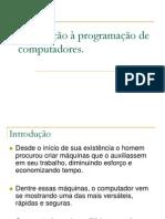 Introdução a Programação de Computadores