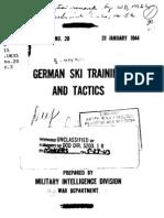 German Ski Training and Tactics (1944)