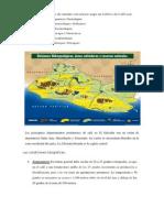 Condiciones geográficas que reunían los departamentos en el cultivo del café