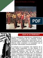 Exposición sobre el sindicato y las huelgas