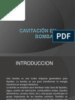 Cavitacion de Bombas