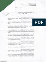 Resolución Ministerial Nº039/11 de 11 de marzo de 2011 y Anexo R.M.  039/11