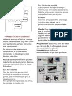 PARTES BÁSICAS DE UN ROBOT
