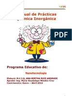 Manual de Practicas Quimica Inorganica Enero-Abril 2013