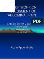 Assessment of Abdominal Pain - Emergency Care