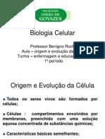 origem e evolução das células