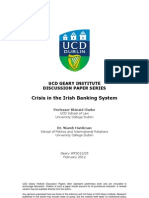 Crisis in the Irish Banking System
