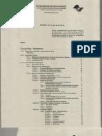 Decreto 12342 Secretaria de Saúde de São Paulo