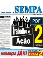 Jornal Da Chapa 2 Para Presidencia Do Sinsempa