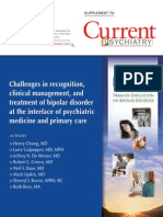 Bipolar Disorder Current Psychiatry
