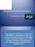 02-Respiratory System Assessment