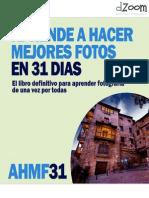 FOT- Aprende a Hacer Mejores Fotos en 31 días- DZoom
