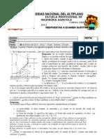 Respuestas Examen Sustitutorio II-2012
