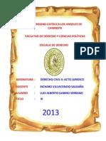 DRII_ACTO_JURIDICO_CHIMBOTE_LUIS_GABINO_TAREA_N°1_CLASIFICACION_DE_LOS_ACTOS_JURIDICOS