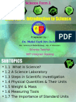1.3 Steps in Scientific Investigation
