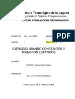 P01b-Ejercicio Usando Constantes y Miembros Estaticos