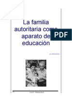 La Familia Autoritaria Como Aparato de Educacion Reich Wilhelm