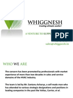 Corporate Profile of Whiggnesh