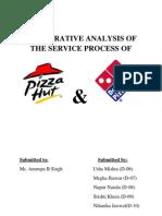 Marketing of Services - Pizza Hut vs Dominos