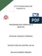 Las Estructuras de Control de C