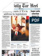 The Daily Tar Heel for February 19, 2013
